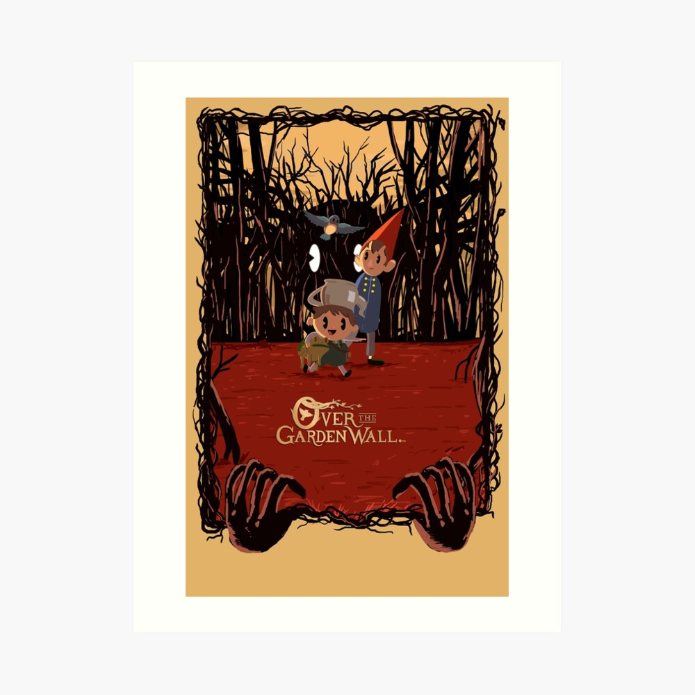 Retro 30s Over the Garden Wall ™ Art Print
