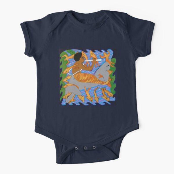 Encantado II Short Sleeve Baby One-Piece