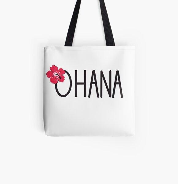 Ohana All Over Print Tote Bag