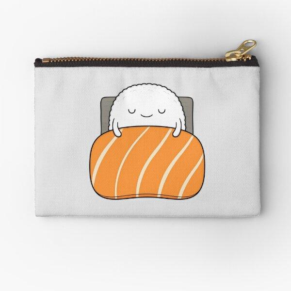 Sleepy Sushi Bed Zipper Pouch