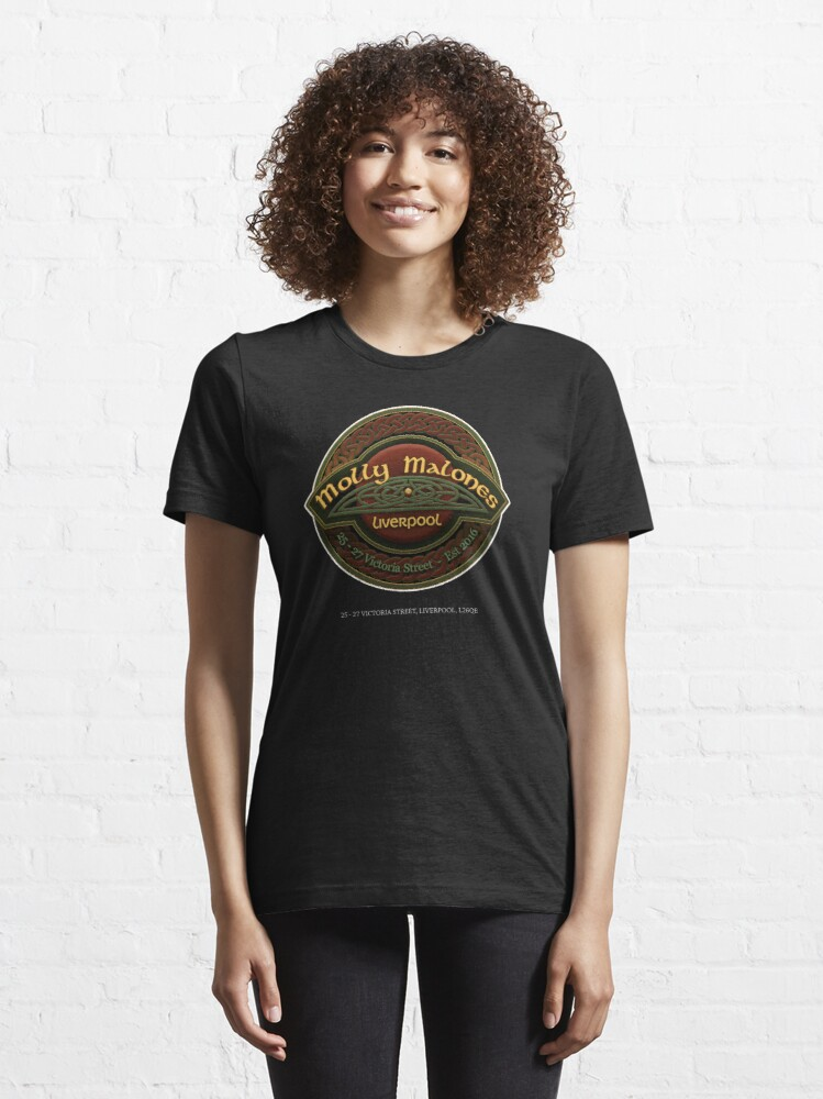 Alternate view of Molly Malones Logo 01 Essential T-Shirt