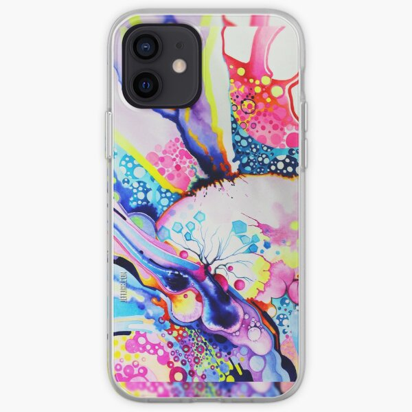 Infinite Flare - Watercolor Painting iPhone Soft Case