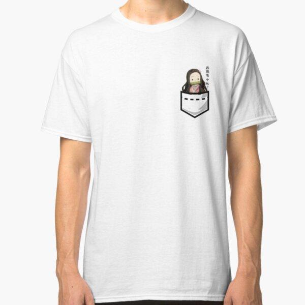 Demon Slayer - Pocket Nezuko - Onii-Chan? ver Classic T-Shirt