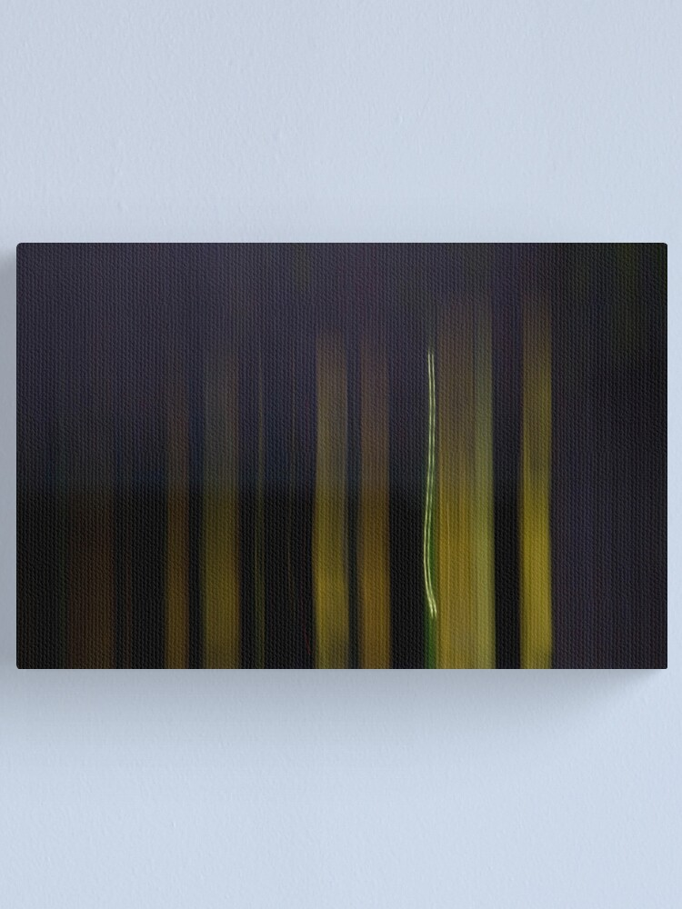 Alternate view of Getting Dark Too Early Canvas Print