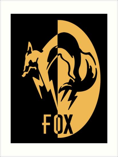 FoxHound Logo Art Prints By CullBot