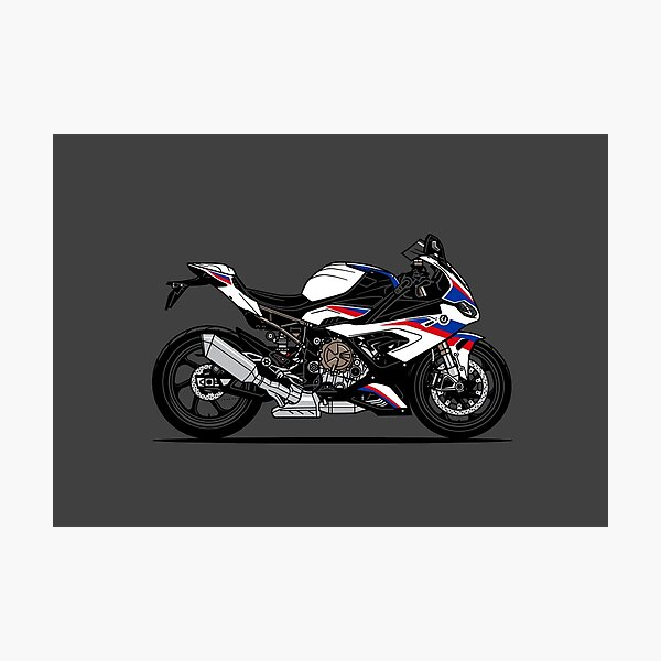 S1000 RR Super Sports Motorcycle Photographic Print