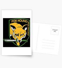FOXHOUND 2 Postcards