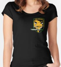 FOXHOUND 2 Women's Fitted Scoop T-Shirt