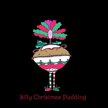 Silly Christmas Pudding by monica