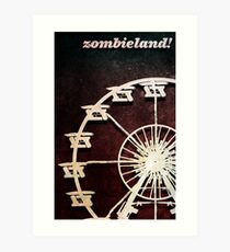 Zombieland Movie Poster Art Print