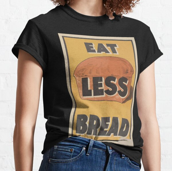 United States Department of Agriculture Poster 0174 Eat Less Bread Classic T-Shirt