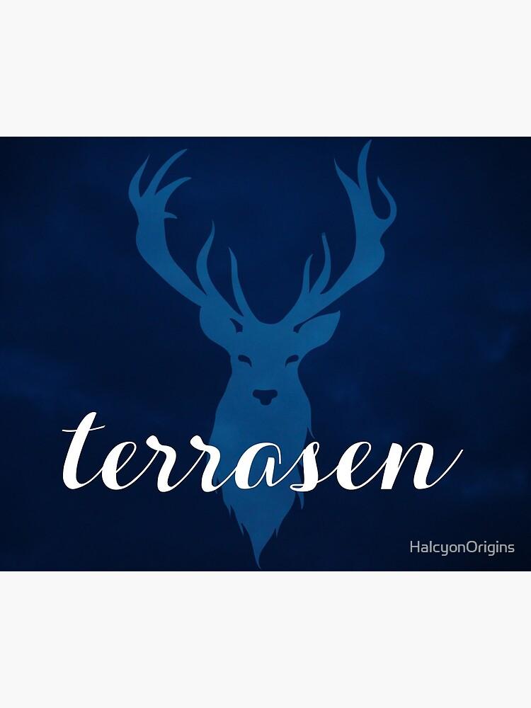Stag sticker Stag Book fandom sticker Terrasen TOG sticker Sarah J Maas Terrasen sticker Lord of the North sticker