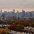Manhattan - New York - From the Hellgate Bridge *featured by Jack McCabe
