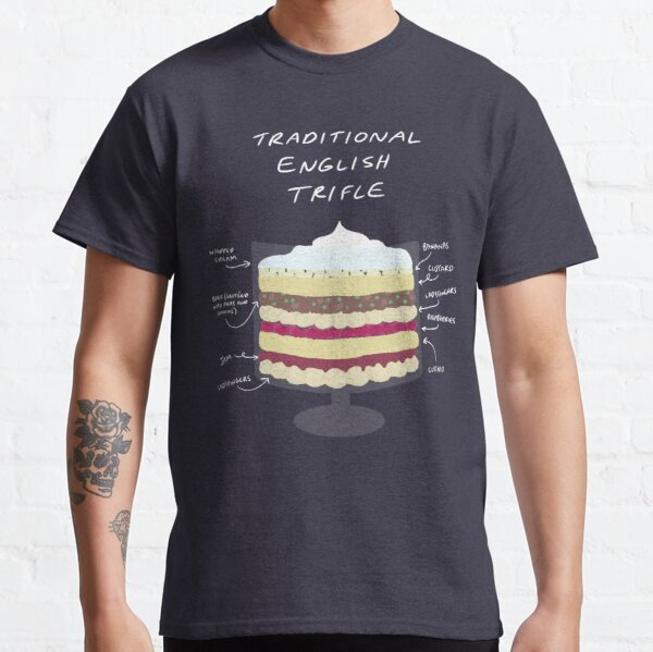 Traditional English Trifle Classic T-Shirt