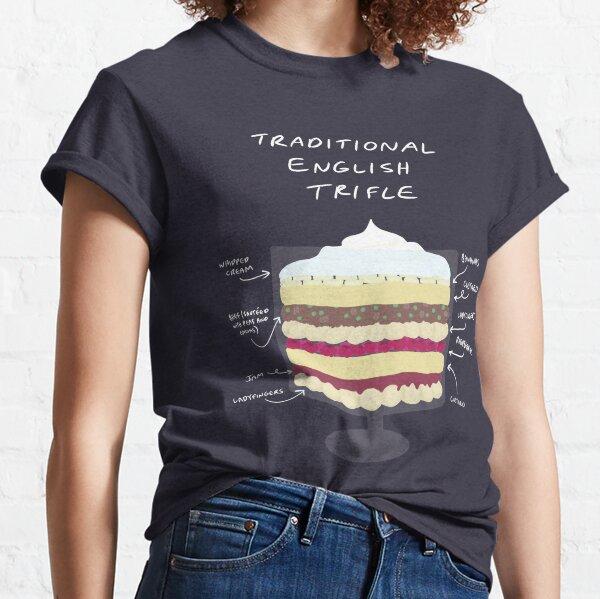 Traditional English Trifle Classic T-Shirt