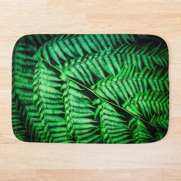 Fernilicious (digital painting) Bath Mat