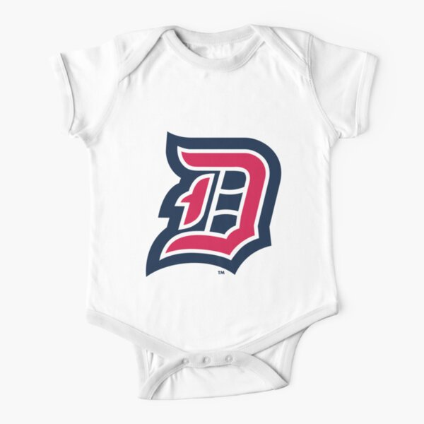 Duquesne Dukes Merch Short Sleeve Baby One-Piece