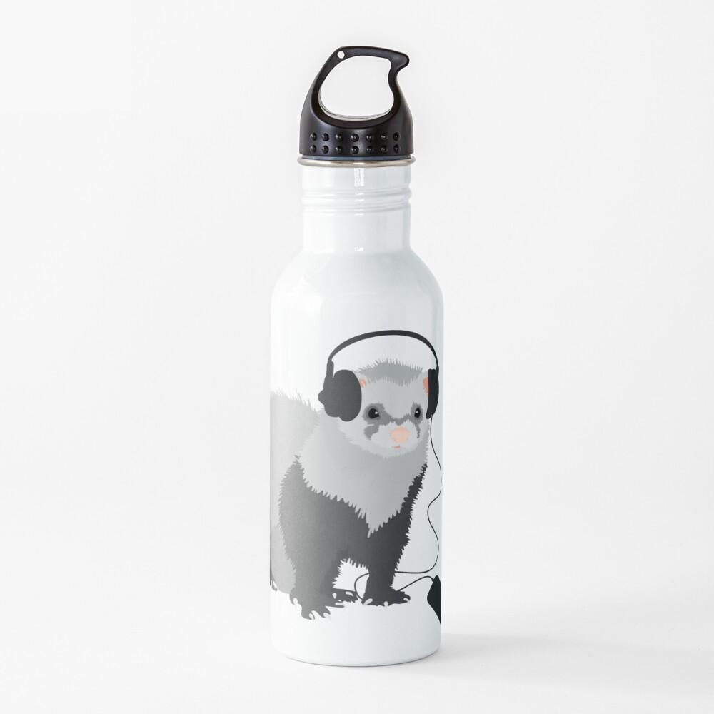 Funny Musical Ferret Water Bottle