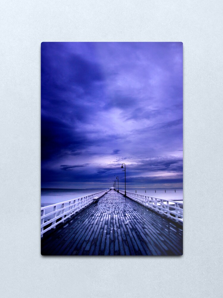 Alternate view of Approaching Storm Metal Print
