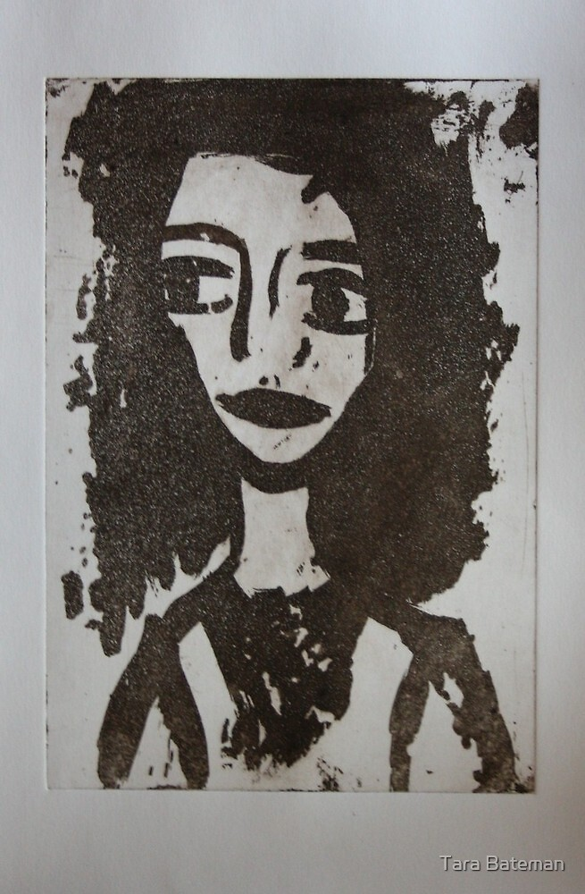 Doll Face 1 by Tara Bateman
