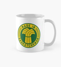 Made in Saskatchewan Logo (Gold & Green) Mug