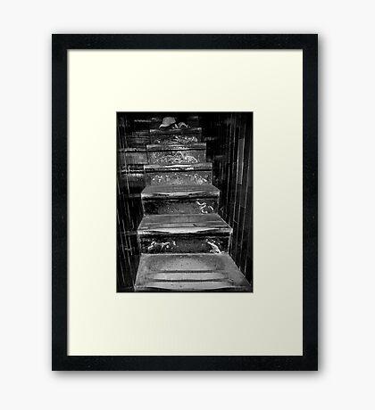 551 Steps Framed Print