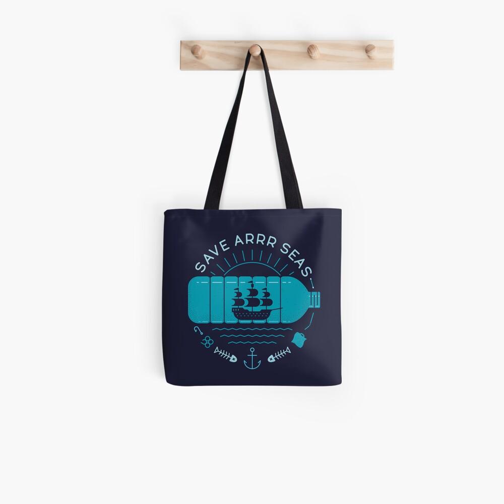 Save Arrr Seas Tote Bag
