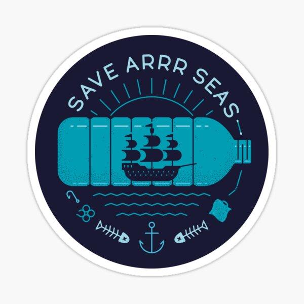 Save Arrr Seas Sticker