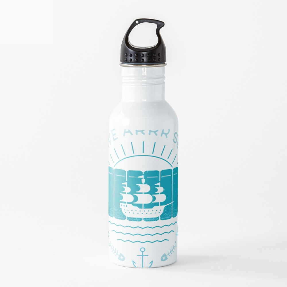 Save Arrr Seas Water Bottle