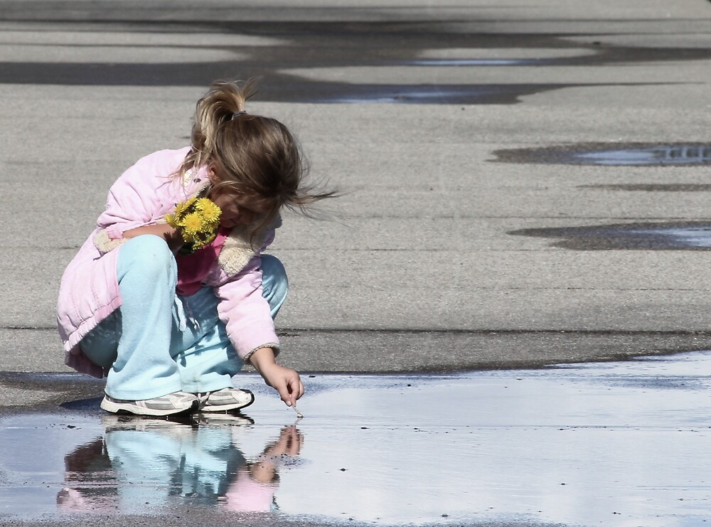 Boardwalk Reflection by mercale