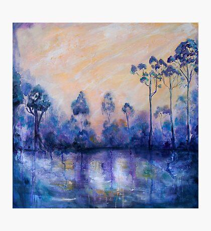 Violet Landscape Photographic Print