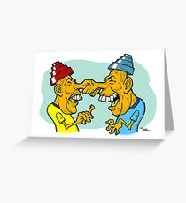 Nice To Meet You Spud! Greeting Card