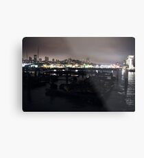 San Fransisco Coast  Metal Print