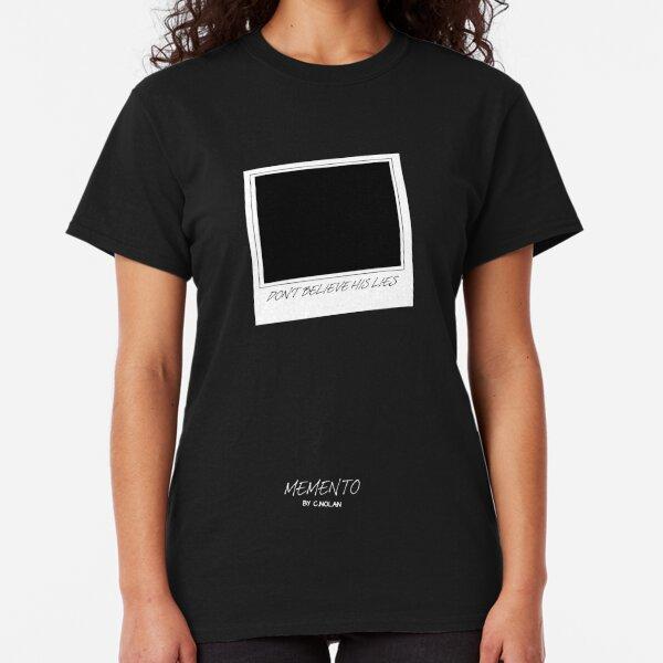 Memento minimalist movie poster Classic T-Shirt