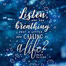 Listen by Stella Bookish Art