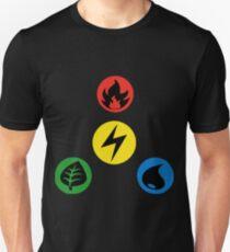 Pokemon Main Types T-Shirt