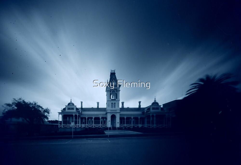 near Ararat hospital by Soxy Fleming
