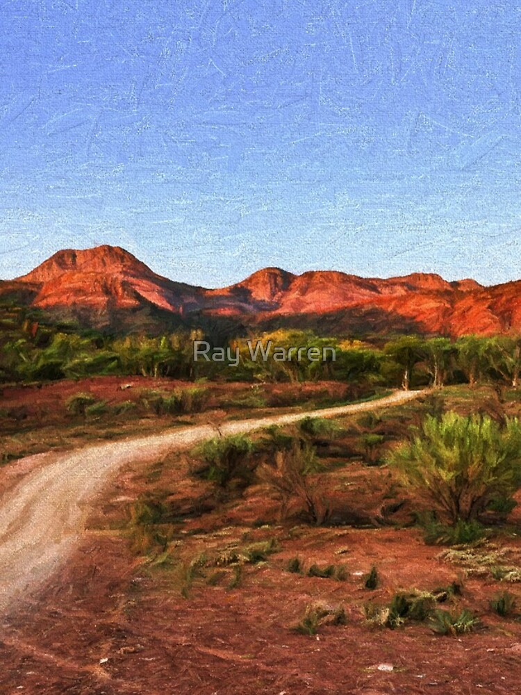 Outback Track (digital painting) by RayW