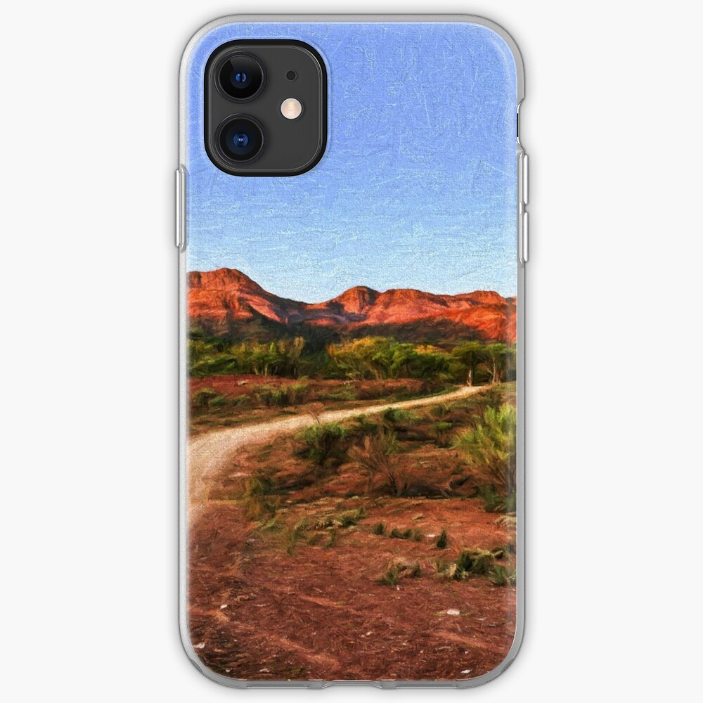 Outback Track (digital painting) iPhone Case & Cover
