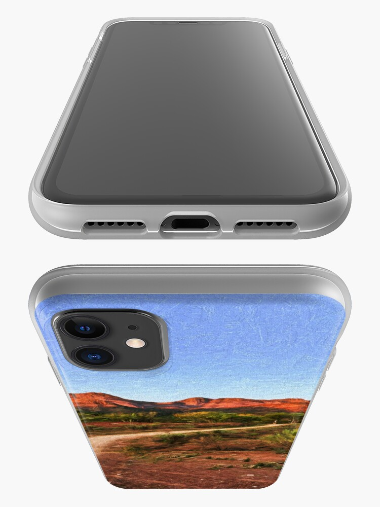 Alternate view of Outback Track (digital painting) iPhone Case & Cover