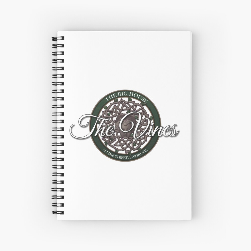 The Vines Logo 002 Spiral Notebook