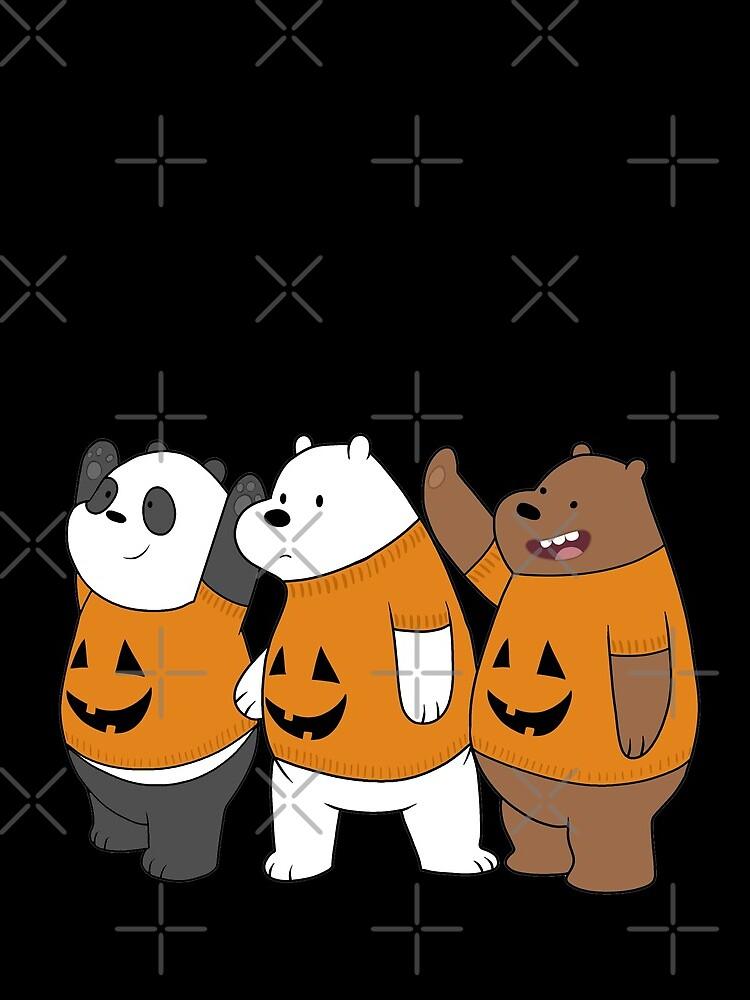 We Bare Bears -  Halloween by ValentinaHramov