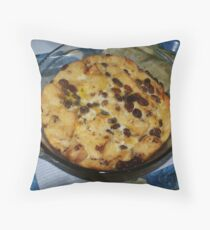 Who's for some bread and butter pudding? Throw Pillow