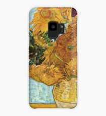 Vincent Willem Van Gogh Sunflowers Case/Skin for Samsung Galaxy