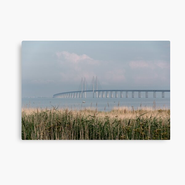 Sunday Morning by the Bridge Canvas Print