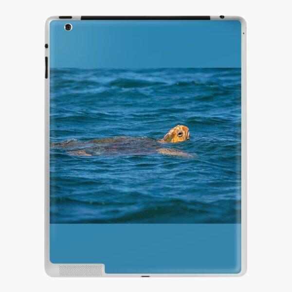 Sea Turtle - The deep Blue Sea iPad Skin