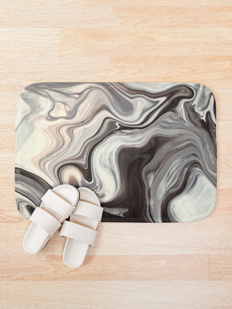 Alternate view of Marble Texture Bath Mat