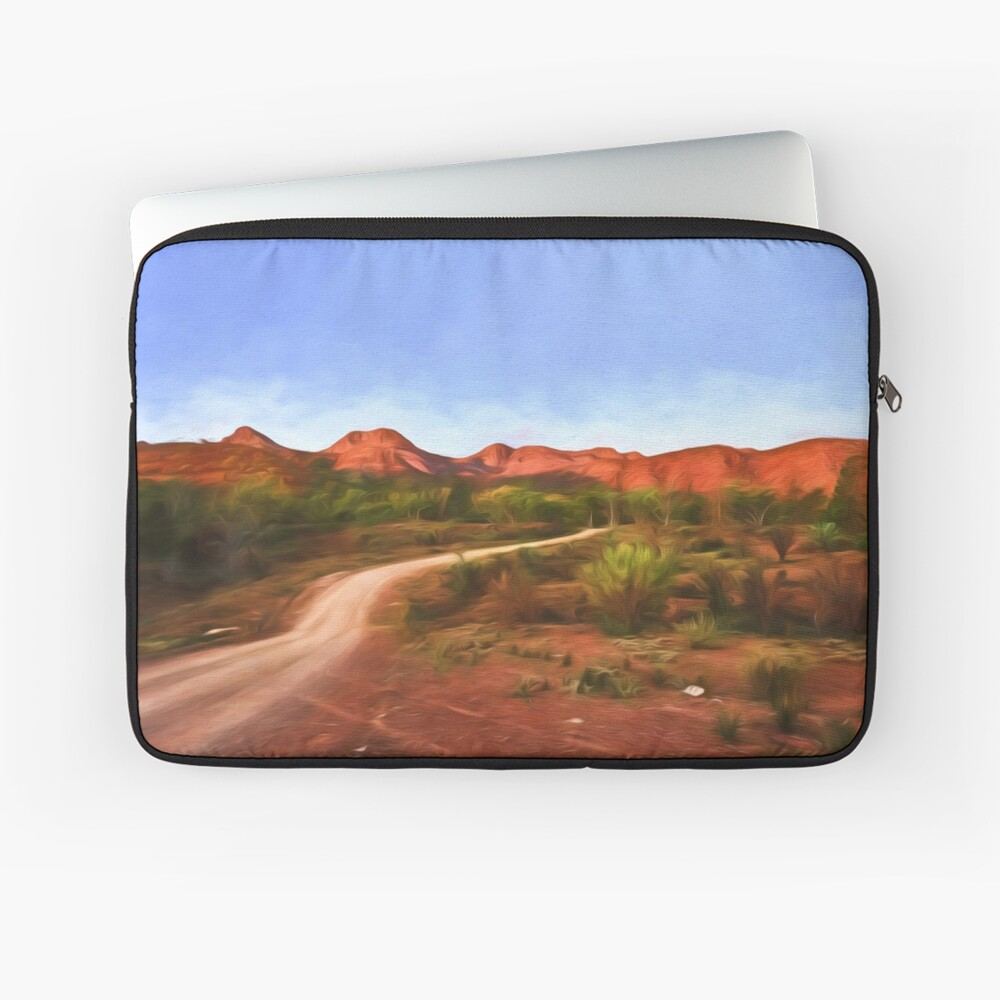 Outback Track   (digital painting) Laptop Sleeve