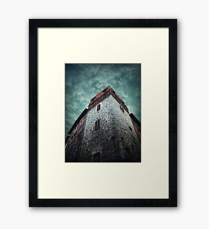 Sinister Sienna Framed Print