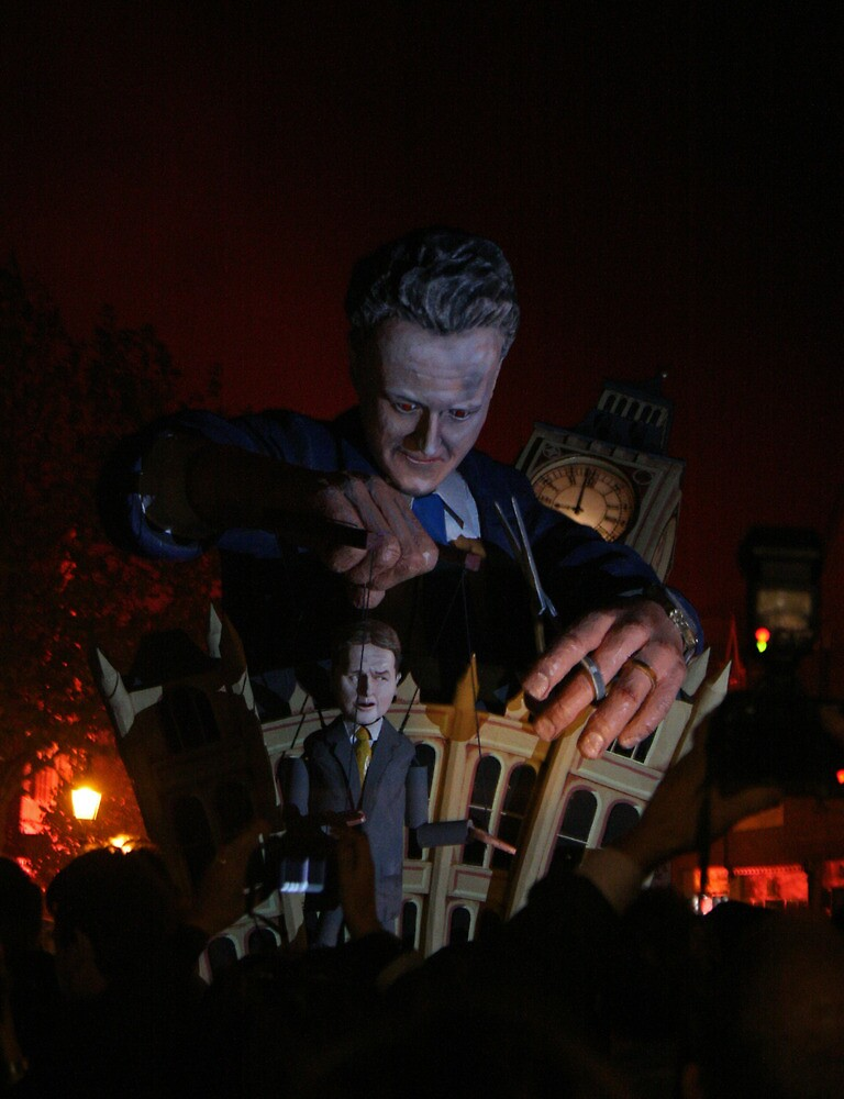 Cameron 'Puppet Master' (Lewes Bonfire 2010) by JJFA